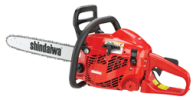 34cc Professional-Grade Chainsaw with a 2-Stroke Engine
