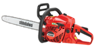40.2cc Professional-Grade Chainsaw with a 2-Stroke Engine